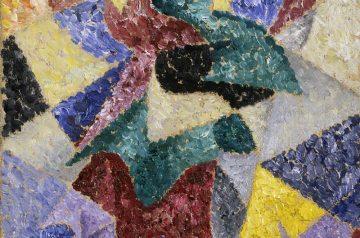 Gino Severini (Cortona, AR, 1883 - Parigi, 1966) Ballerina, 1913 Mart, Museo di arte moderna e contemporanea di Trento e Rovereto / Collezione L.F.