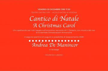 Cantico di Natale - A Christmas Carol