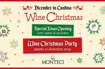 Wine Christmas Party alla Cantina Monteci