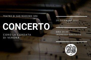 """Concerto di Natale con il coro """"La Cordata"""""""