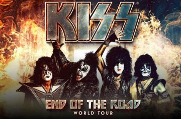 KISS in Arena di Verona - The End of The Road